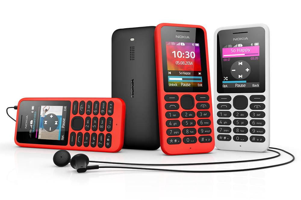 nokia  mobile phone red