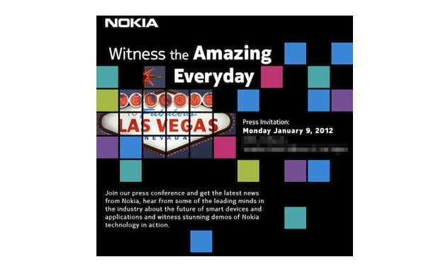 Nokia CES Press Invite