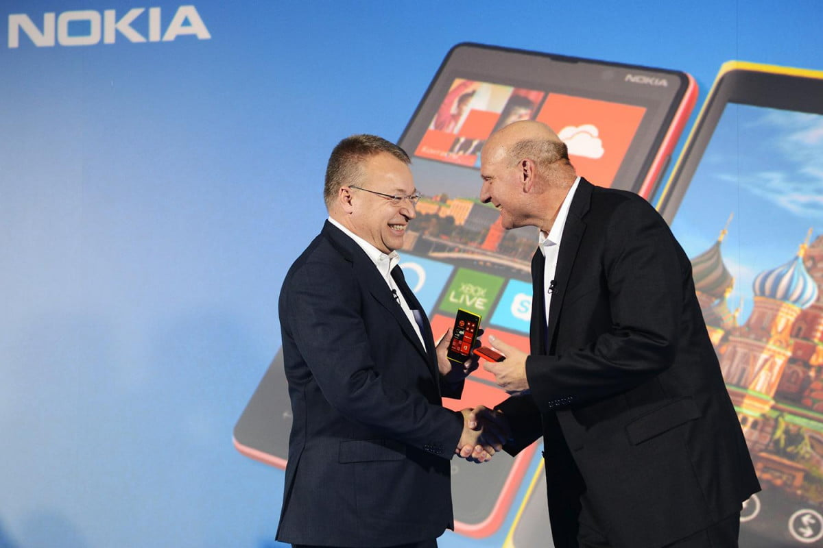 nokia windows phone problems ces stephen elop microsoft steve balmer