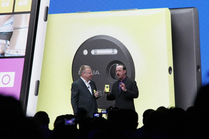 nokia lumia  may put the compact point and shoot to rest stephen elop press announcement