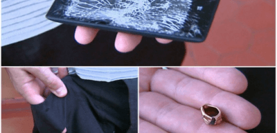 This Nokia Lumia 520 stopped a bullet from hitting a Brazilian Police Officer.