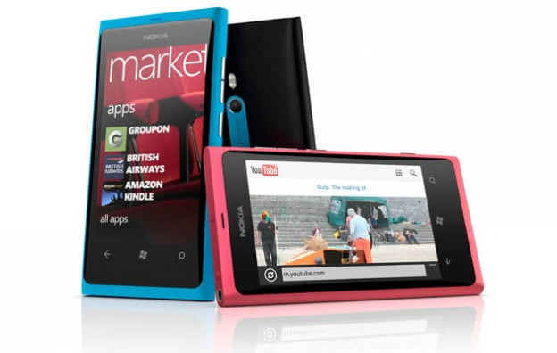 Nokia Lumia 800 - Different angles