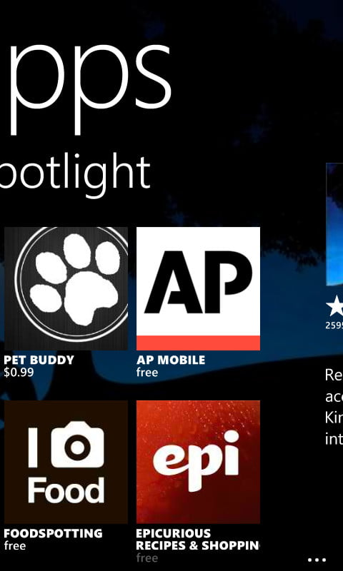 Nokia Lumia 810 review screenshot apps