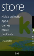 Nokia Lumia 810 review screenshot store