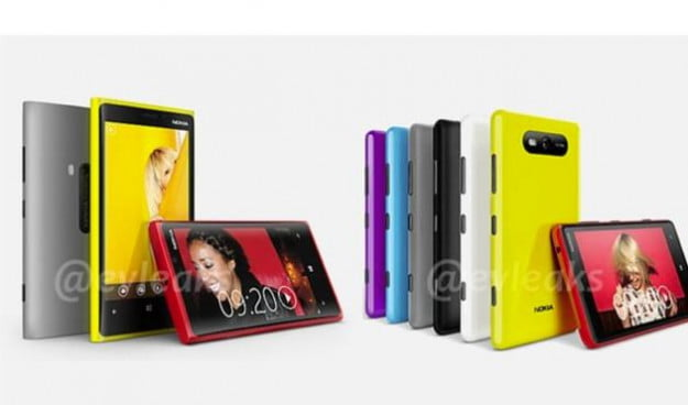 Nokia Lumia devices, 820 and 920 with PureView