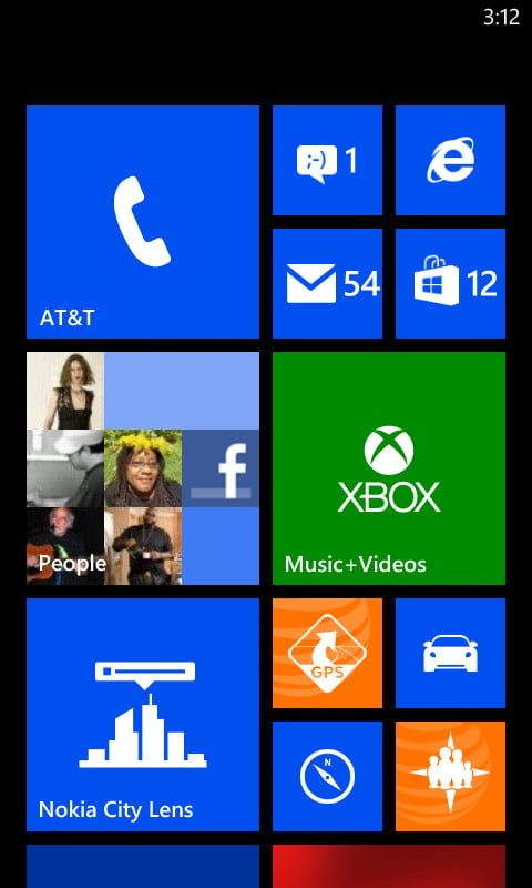 Nokia Lumia 820 review screenshot home windows phone