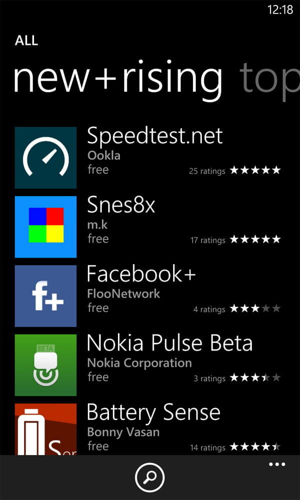 Nokia lumia 920 review screenshot apps