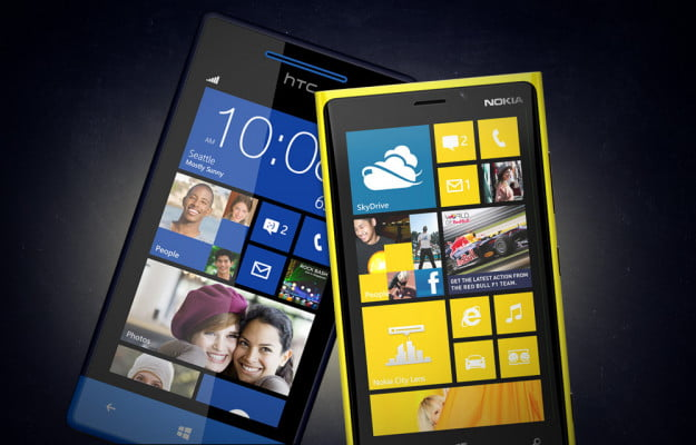 Nokia Lumia 920 vs. HTC Windows Phone 8X
