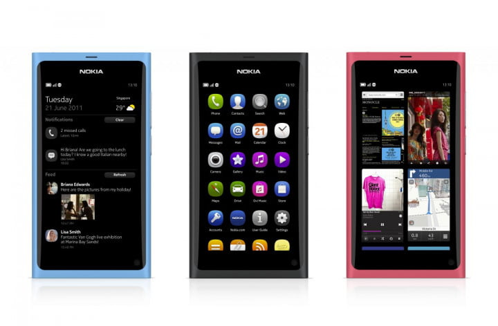 nokia debuts n  the first and last meego phone feature