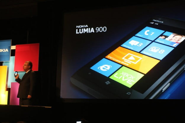 Nokia Lumia 900 announcement with Stephen Elop CES 2012