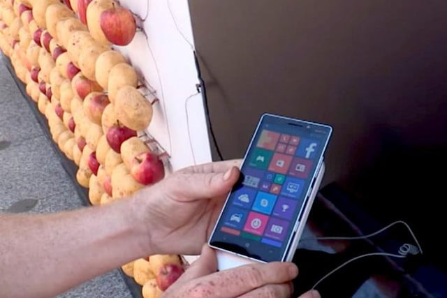 nokia charges lumia  potatoes apples potato apple