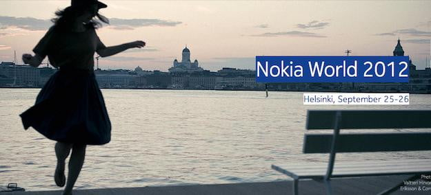 Nokia World 2012 Banner