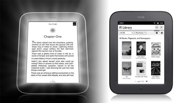 Nook GlowLight Nook Simple ereader barnes & noble