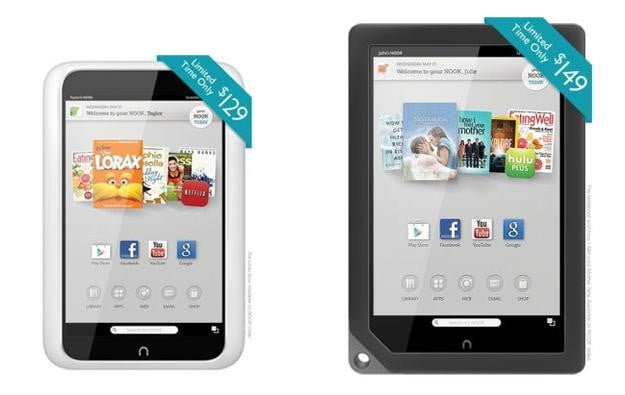 Nook HD and HD+ Discontinued