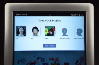 nook hd plus nook profiles