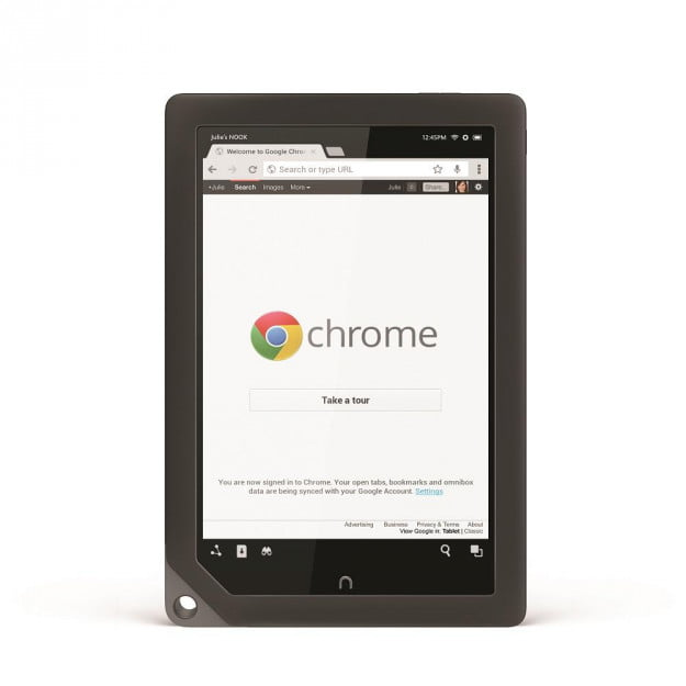 Chrome on the Nook HD