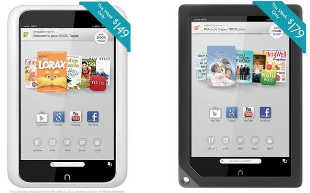 Nook HD and HD+ Discounted for Mothers Day
