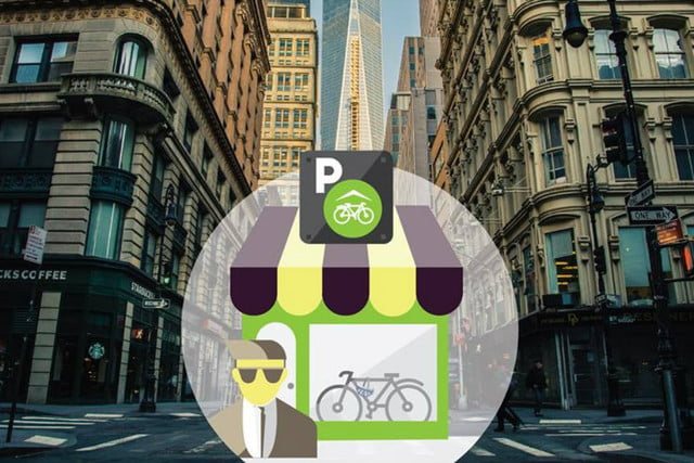 nookhub bike parking app feature