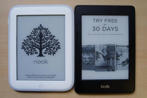 Nook vs Kindle ads