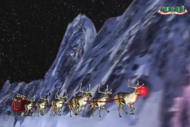 norad launches revamped santa tracking site plenty keep kids entertained