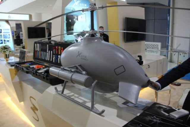 china defense helicopter drone norinco sky saker h