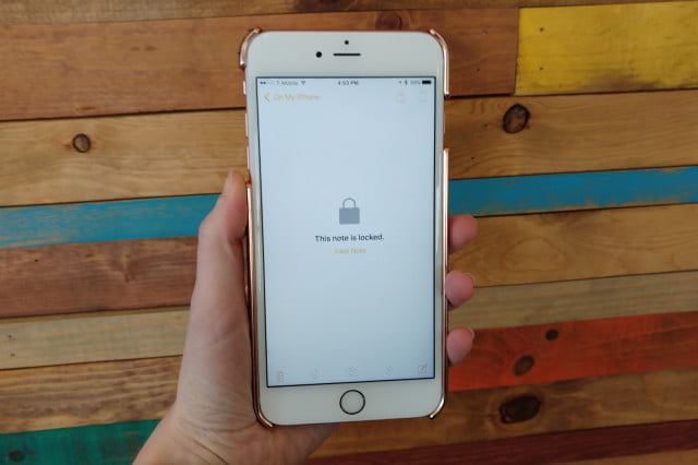 how to add passwords notes ios  app locked
