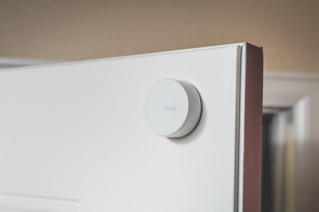 the notion sensor performs eight functions on door