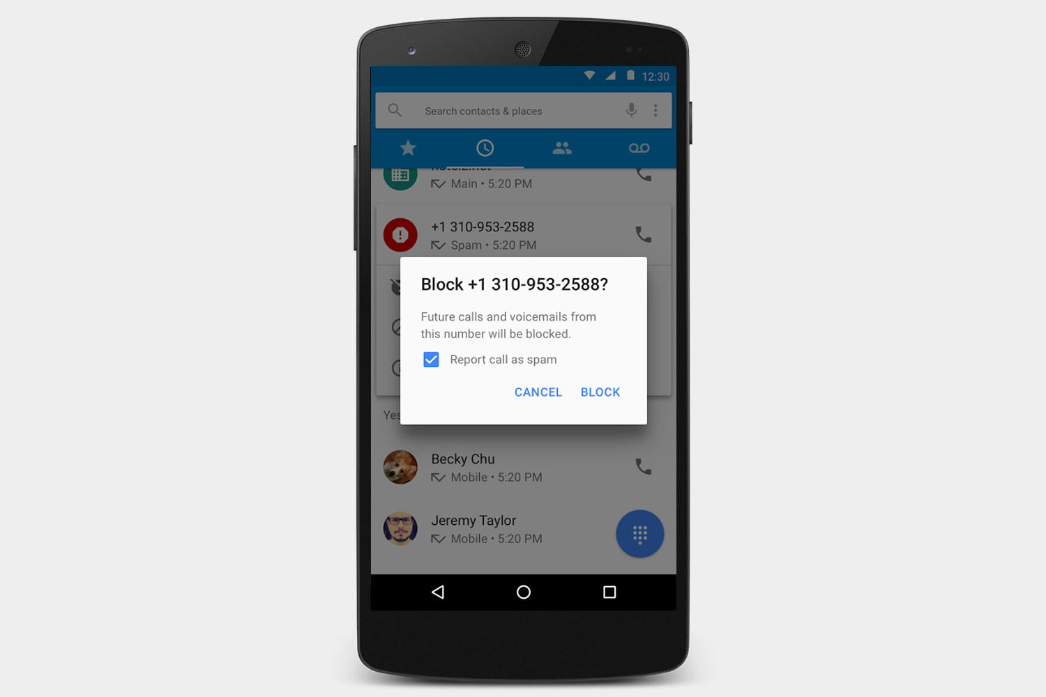 Phone How To Block A Phone Number On My Android how to block calls on an android phone digital trends blocking a pixel or nexus device marshmallow 6 0