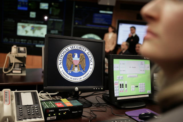 leaked nsa slide says infected  networks malware predictive data