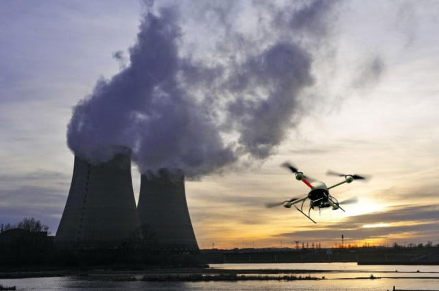 could hackers take over nuclear power plant drone