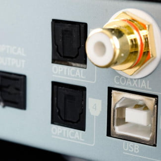 NuForce Amp review optical inputs