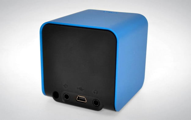 NuForce Cube Review blue rear angle