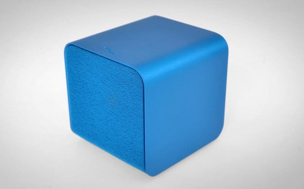 NuForce Cube Review blue top angle