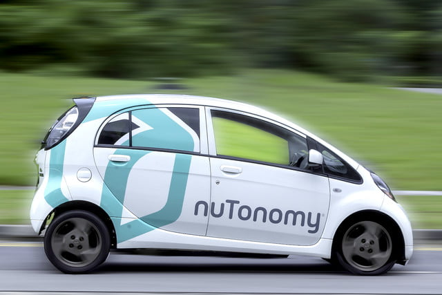 grab nutonomy driverless taxi on demand