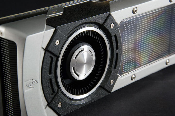 nvidia geforce gtx  review fan