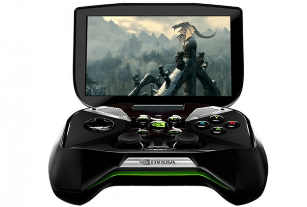 Nvidia Project Shield (front)