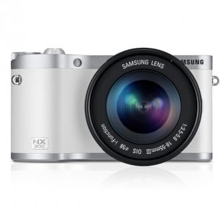 NX300_002_Front-with-Lens_white