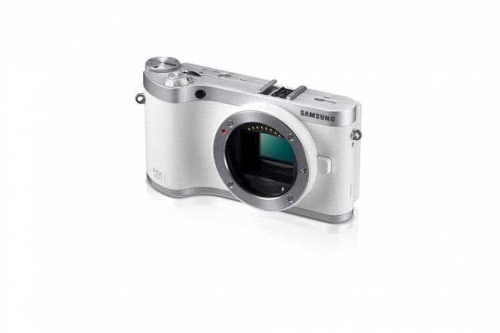 samsung nx  smart camera unveiled ahead of ces dynamic white