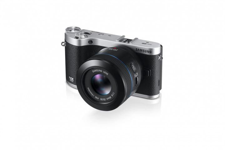 samsung nx  smart camera unveiled ahead of ces dynamic black