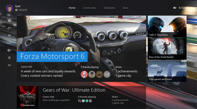 xbox one firmware update introduces backward compatibility nxoe header