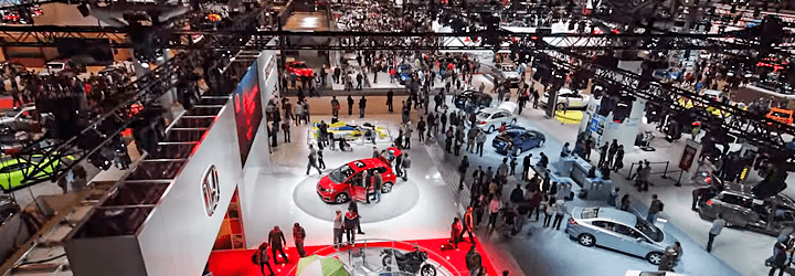 Automakers open the throttle in the Big Apple