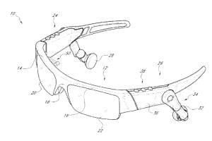 Oakley Smart Glasses patent image