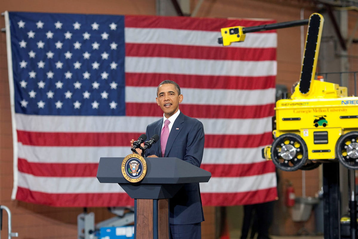 white house ai automation obama frontiers conference header