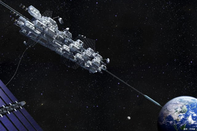 japan firm continues with plan build elevator into space obayashi