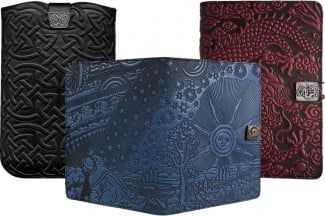 Oberon Design Leather Covers and Cases