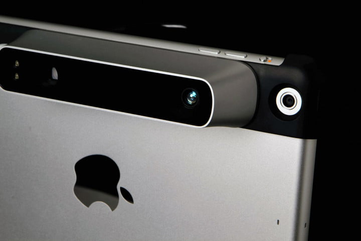 Occipital Structure Sensor back top corner