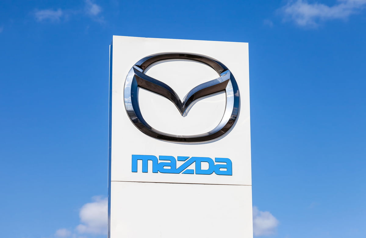 mazda cx  suv recall steering official dealership sign of