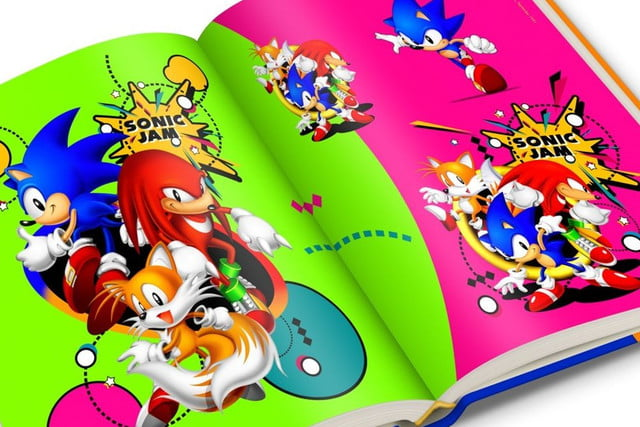 sonic the hedgehog celebrates  years with limited edition art book official sega