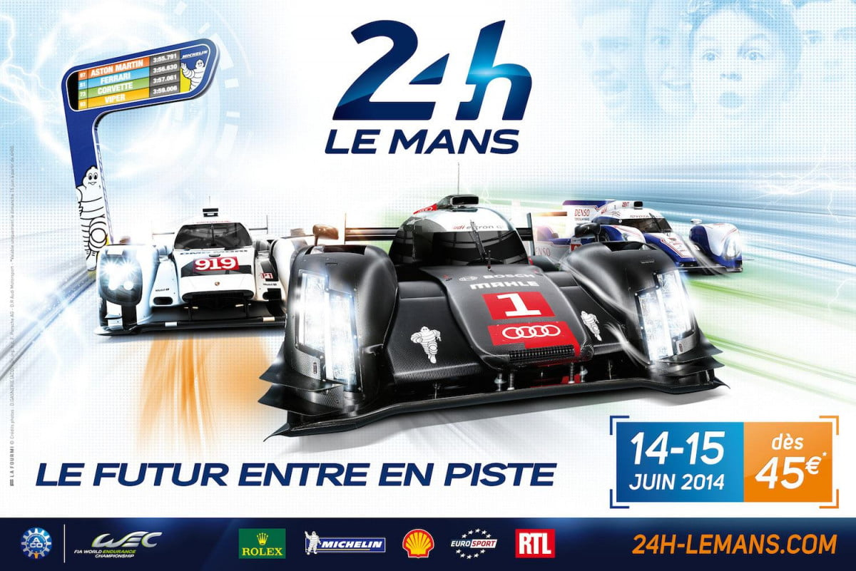three reasons watch care  hours le mans race weekend official poster heures du