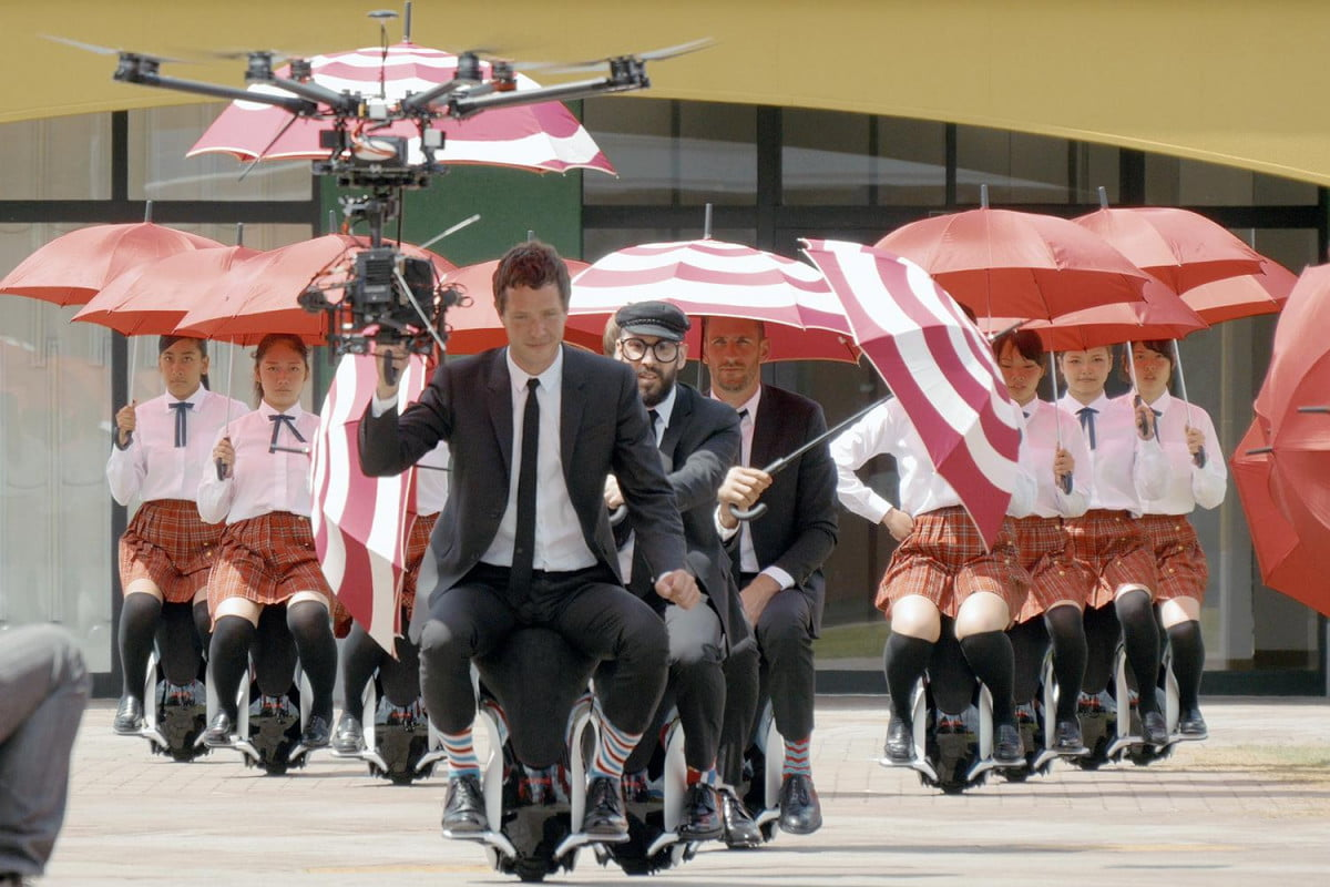 ok go drone drones robot scooters